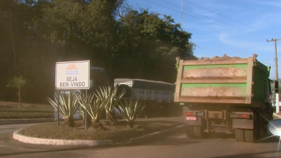Mineradora é condenada a pagar R$ 35 milhões por explorar área de preservação em Descalvado (Foto: Reprodução/EPTV)