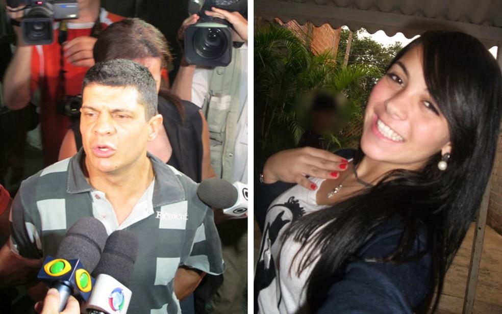 Sandro Dota teve pena reduzida para 21 anos e 4 meses de prisão por matar e estuprar a cunhada Bianca Consoli em 2011 (Foto: Paulo Piza/G1 e Arquivo pessoal)