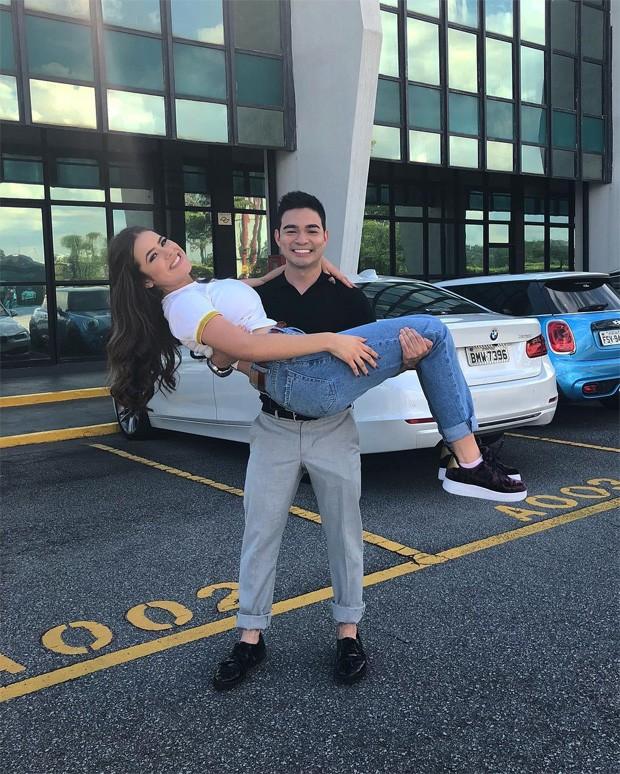 Maisa Silva e Yudi Tamashiro (Foto: Reprodução/Instagram)