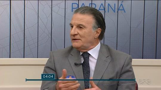 Ogier Buchi rebate falta de apoio do partido e defende o armamento da população em entrevista ao Meio-Dia Paraná