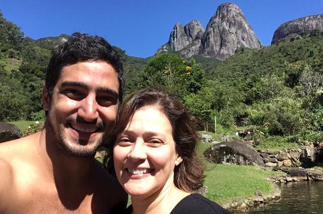 Renato Góes e Cláudia Assunção (Foto: Arquivo pessoal)