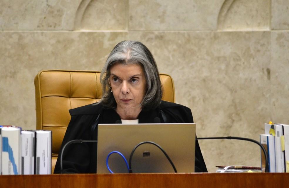 Ministra presidente do Supremo Tribunal Federal, Cármen Lúcia (Foto: Renato Costa/FramePhoto/Estadão Conteúdo)