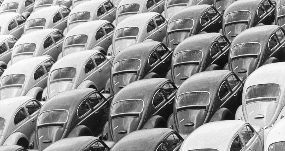 Fusca foi o veículo mais vendido do Brasil entre 1959 e 1982 — Foto: Arquivo/Conteúdo Estadão