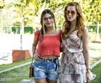 Giovanna Lancellotti e Sophia Abrahão | Raphael Dias/TV Globo