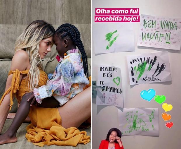 Giovanna Ewbank e Títi (Foto: Elvis Moreira/Reprodução/Instagram)