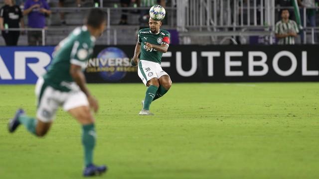 Felipe Melo, em Palmeiras x Atlético Nacional
