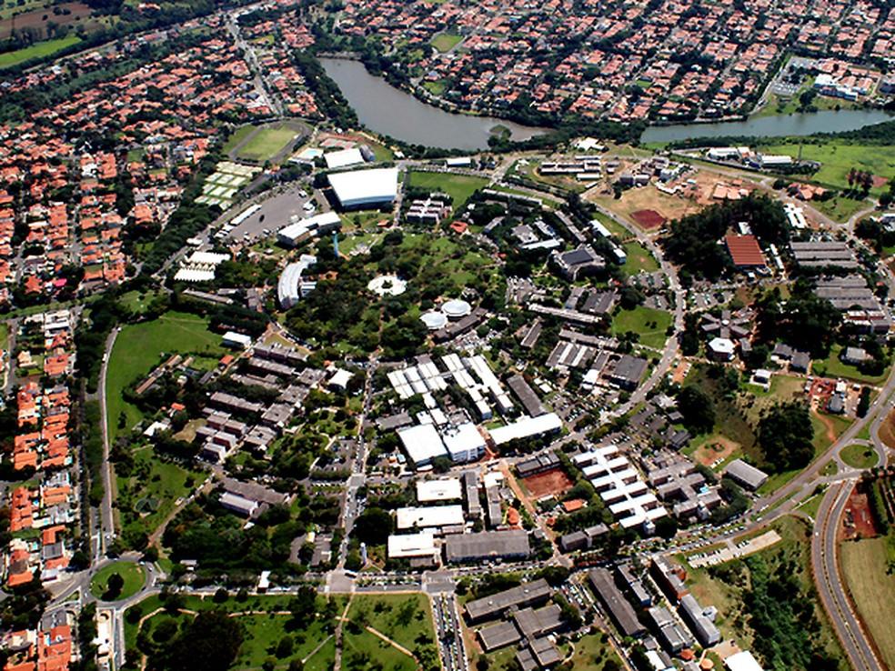 Campus da Universidade Estadual de Campinas (Unicamp) possui escolta mediante solicitação (Foto: Antoninho Perri/Ascom /Unicamp)