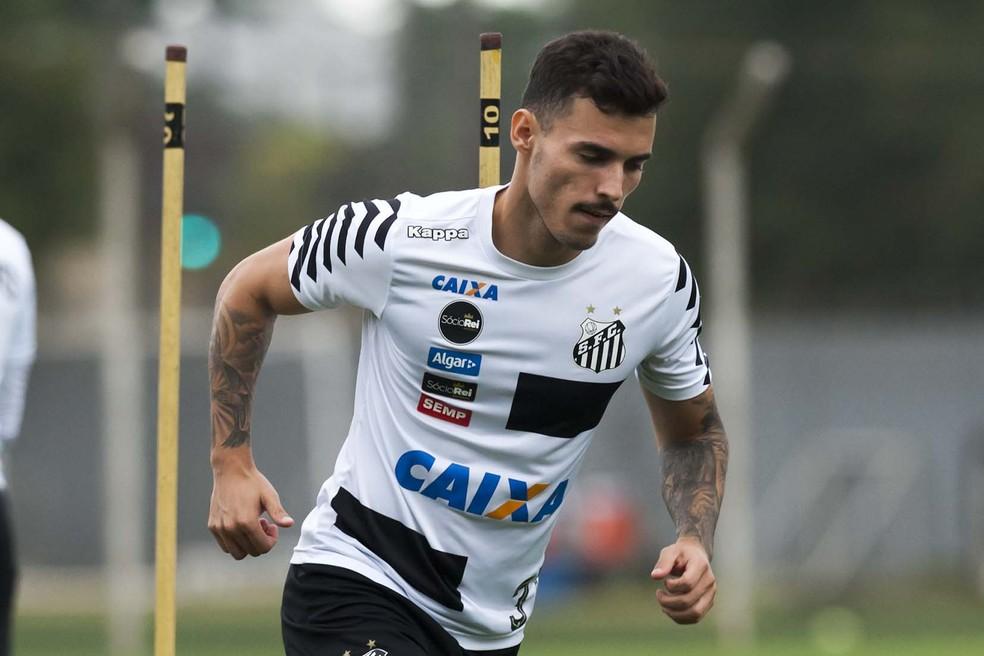 Zeca é um dos alvos do Flamengo para 2018  (Foto:  Ivan Storti/Santos FC)
