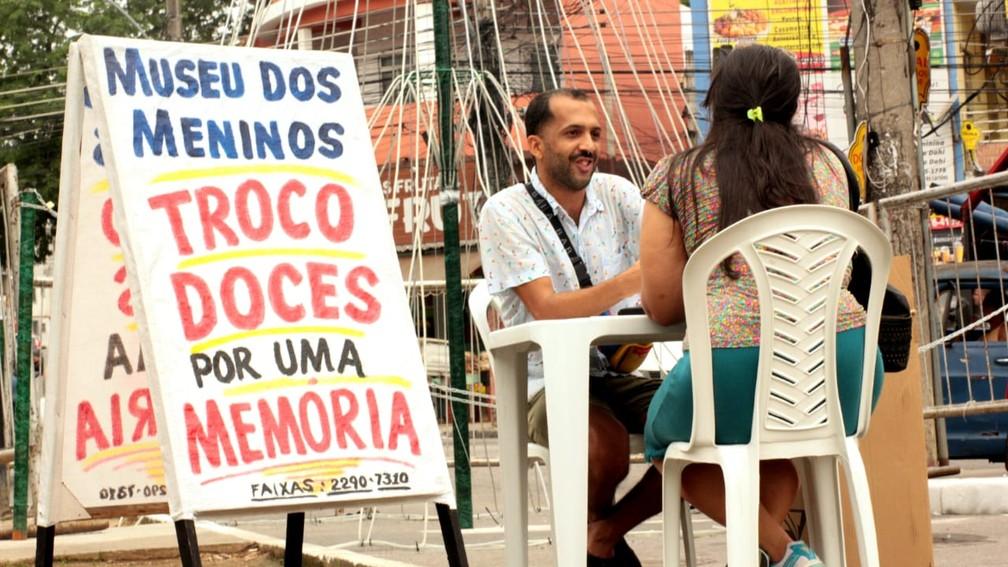 Projeto reúne relatos de trinta jovens do Complexo do Alemão, na Zona Norte do Rio — Foto: Divulgação/Museu dos Meninos