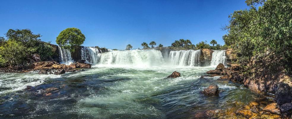 Cachoeira da Velha também está na lista de locais com as medidas em vigor no Jalapão — Foto: Lester Scalon/Avis Brasilis