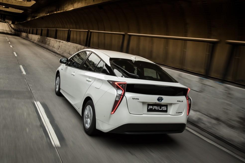 Toyota Prius é o carro híbrido mais vendido do país (Foto: Divulgação)