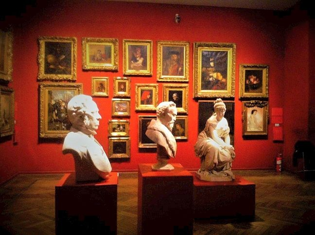 O Museo de Bellas Artes de Buenos Aires fica no bairro da Recoleta  (Foto: Gabriela G. Antunes)