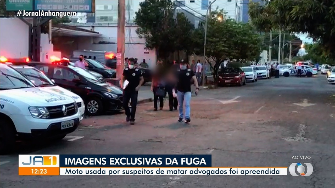 Preso suspeito de matar advogados em escritório de Goiânia