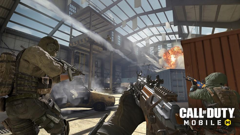 Call of Duty Mobile no Rock in Rio — Foto: Divulgação