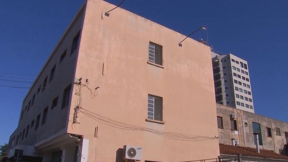 Hospital de campanha em Ourinhos teve mudança no atendimento para desafogar UPA — Foto: TV TEM/Reprodução