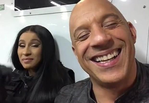Em vídeo, Vin Diesel entrega que Cardi B está em 'Velozes e Furiosos 9' -  Quem | Séries e filmes