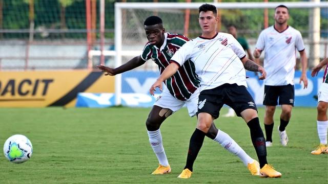 Fluminense x Athletico-PR, pela final do Brasileiro Sub-17