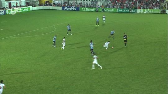 São Luiz 0 x 0 Grêmio: veja os melhores momentos da partida