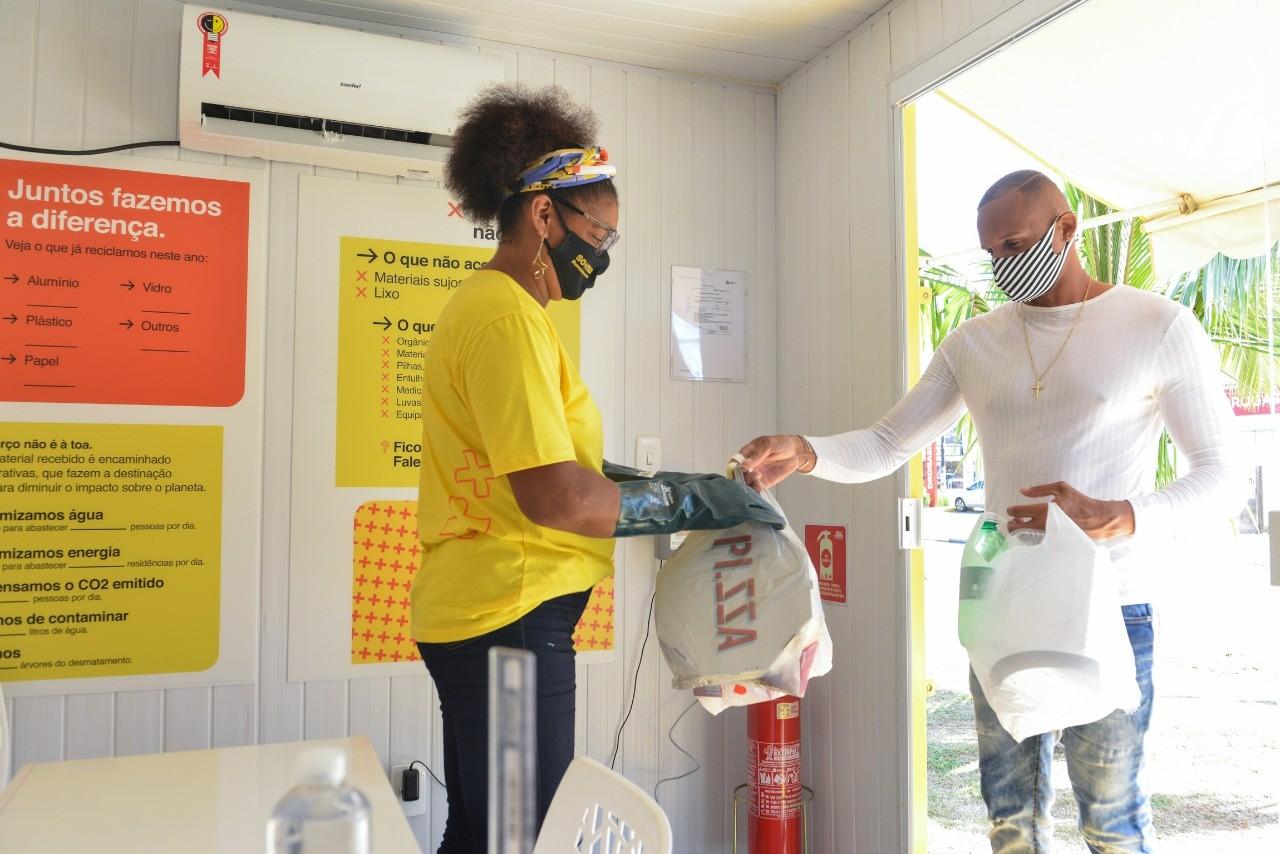Espaço que troca resíduos recicláveis por benefícios será inaugurado em Camaçari, na RMS
