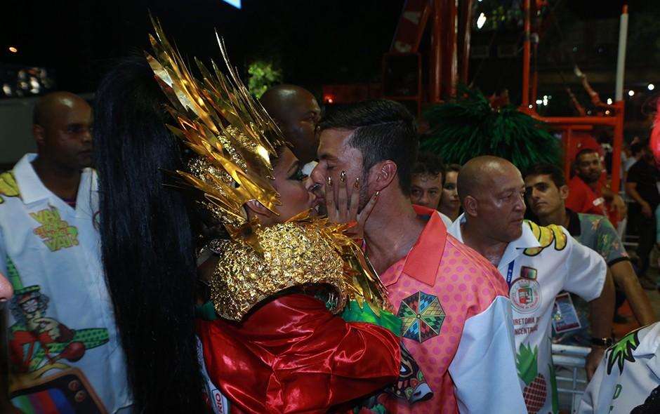 Juliana Paes e Carlos Eduardo Baptista (Foto: Dilson Silva/ Agnews)