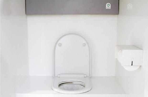 Sistema de descarga sem água transforma resíduos em eletricidade  (Foto: Divulgação)