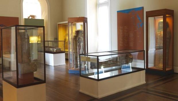 Boa parte das múmias que estavam no Museu haviam passado por tomografias computadorizadas, diz pesquisador (Foto: MUSEU NACIONAL | UFRJ via BBC)