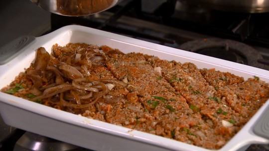 Abóbora substitui carne em receita diferente de quibe