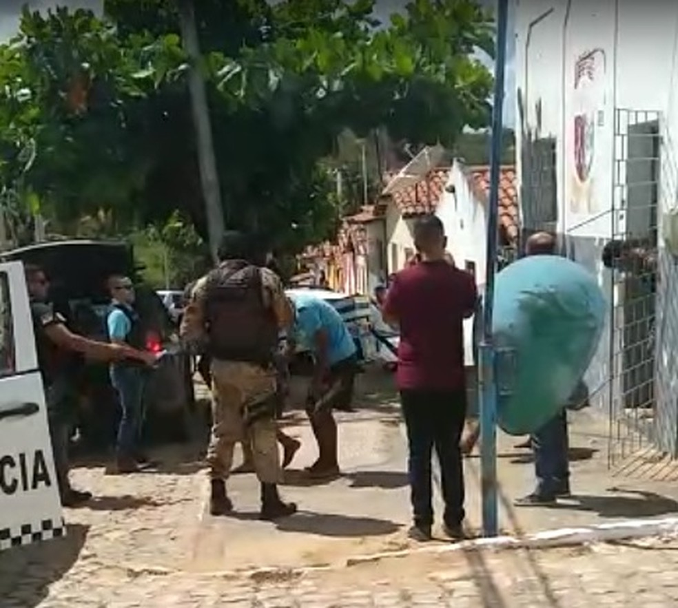 Operação terminou com sete presos em Cerro Corá — Foto: Redes Sociais