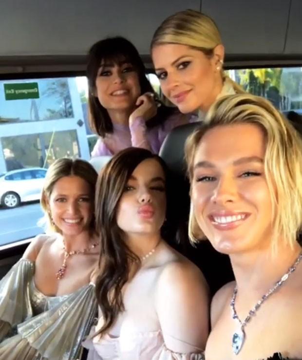 Thaila Ayala e Fiorella Mattheis com Helena Bordon, Lalá Rudge e Sonia (Foto: Reprodução Instagram)