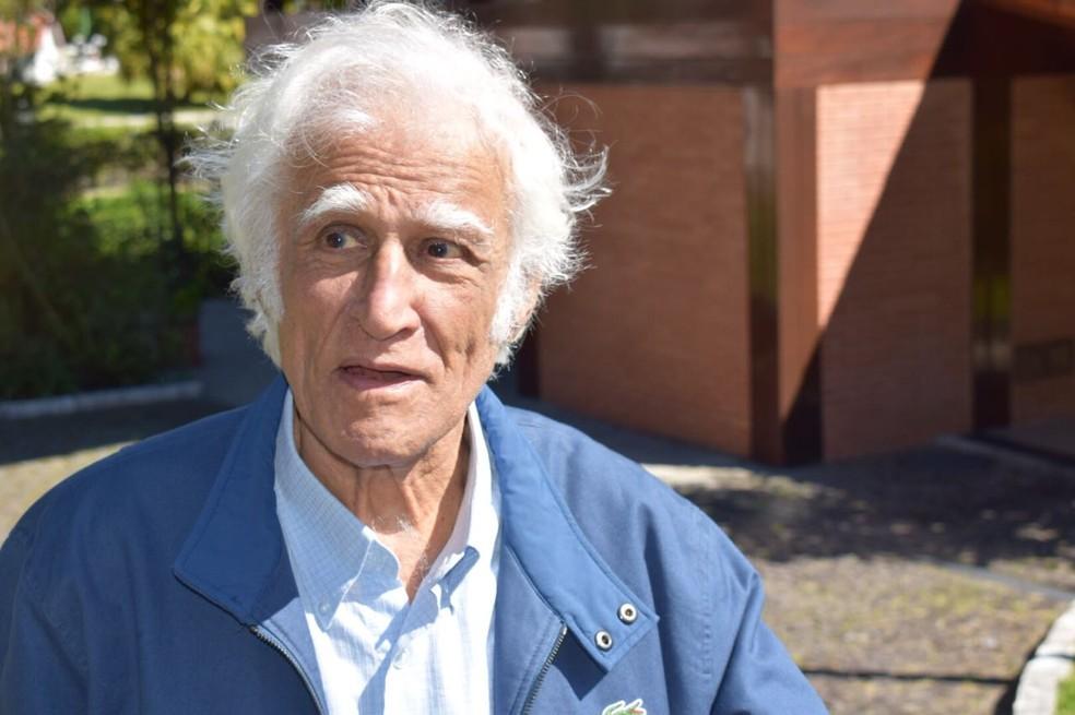 Ziraldo tem 85 anos — Foto: Gustavo Garcia/G1