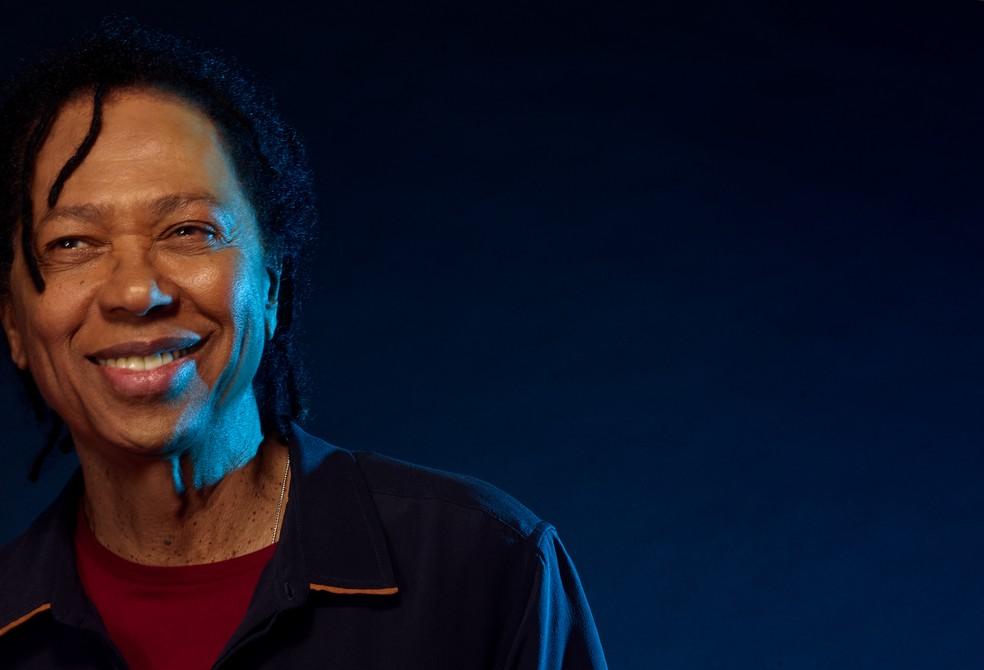 O cantor, compositor e produtor musical alagoano Djavan — Foto: Djavan/Divulgação