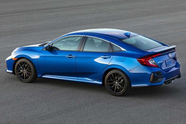 O Honda Civic Si 2020 recebeu poucas alterações no visual (Foto: Divulgação)