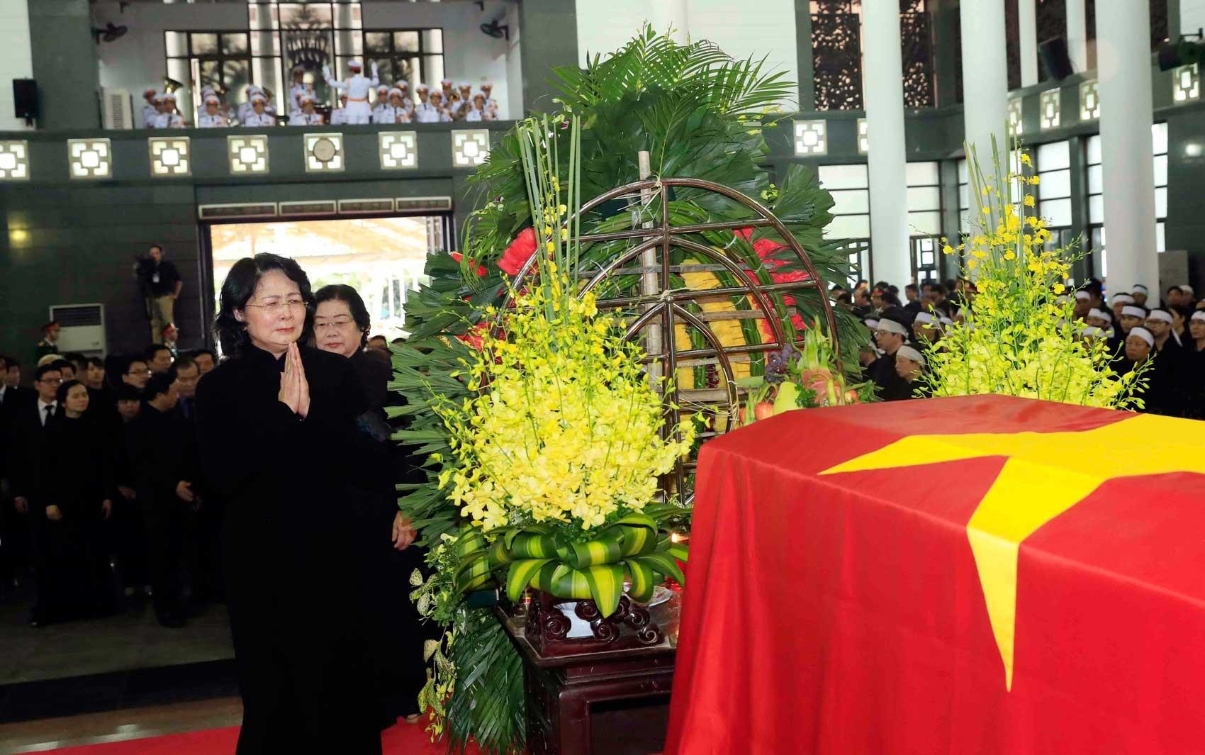 Vietnã se despede do presidente Tran Dai Quang com um funeral de Estado