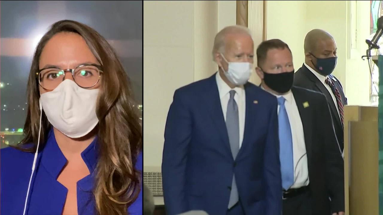 Joe Biden se encontra com família de Jacob Blake, o homem que levou sete tiros