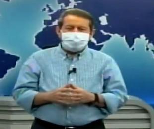 R.R. Soares apresenta o seu programa de máscara   Reprodução