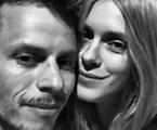 Carolina Dieckmann com o marido, Tiago Worcman | Reprodução