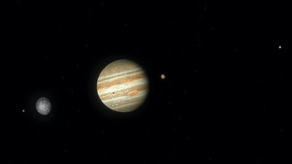 Conjunção planetária ocorre em 21 de dezembro — Foto: Getty Images via BBC