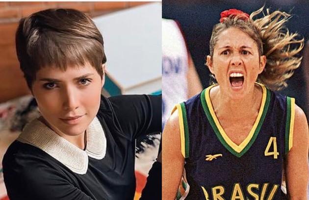 Letícia Colin interpretará a ex-jogadora Hortência num longa de Georgia Guerra que mostrara a seleção de basquete entre os anos 1989 e 1996 (Foto: Reprodução)