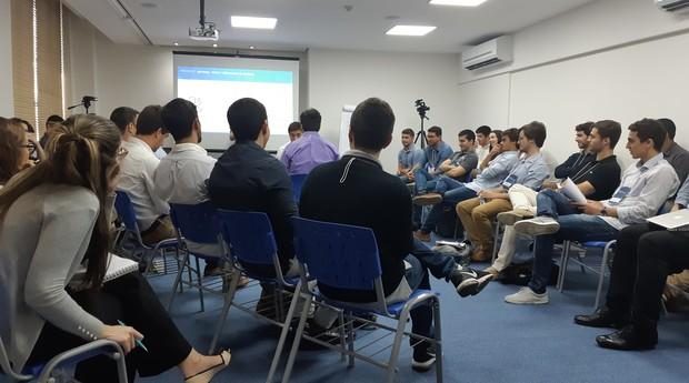 Turma assiste aula presencial da Proseek (Foto: Divulgação/Ramon Cerqueira)