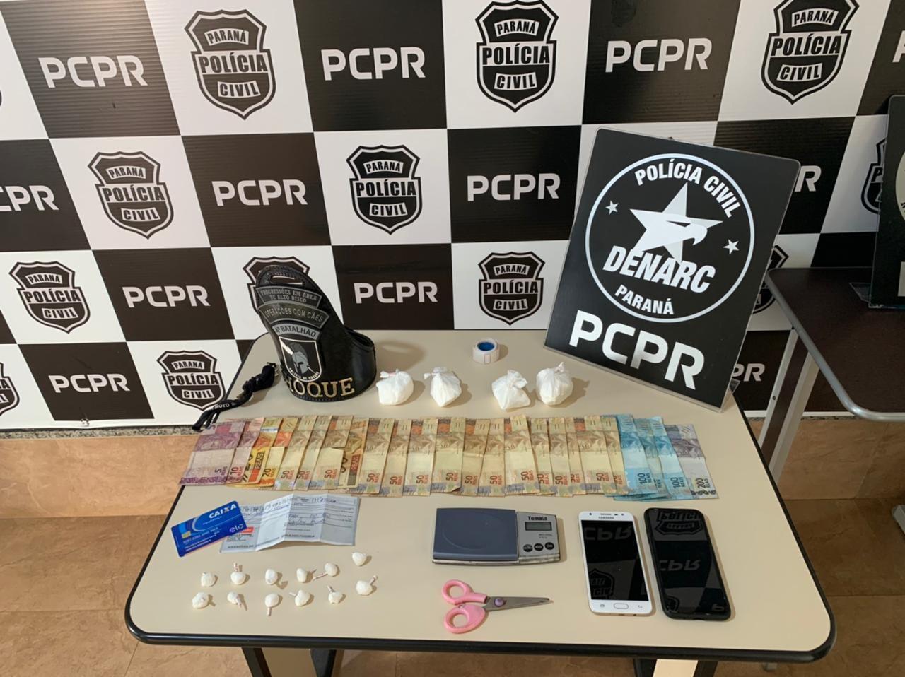 Operação contra tráfico de drogas termina com um alvo morto em Maringá
