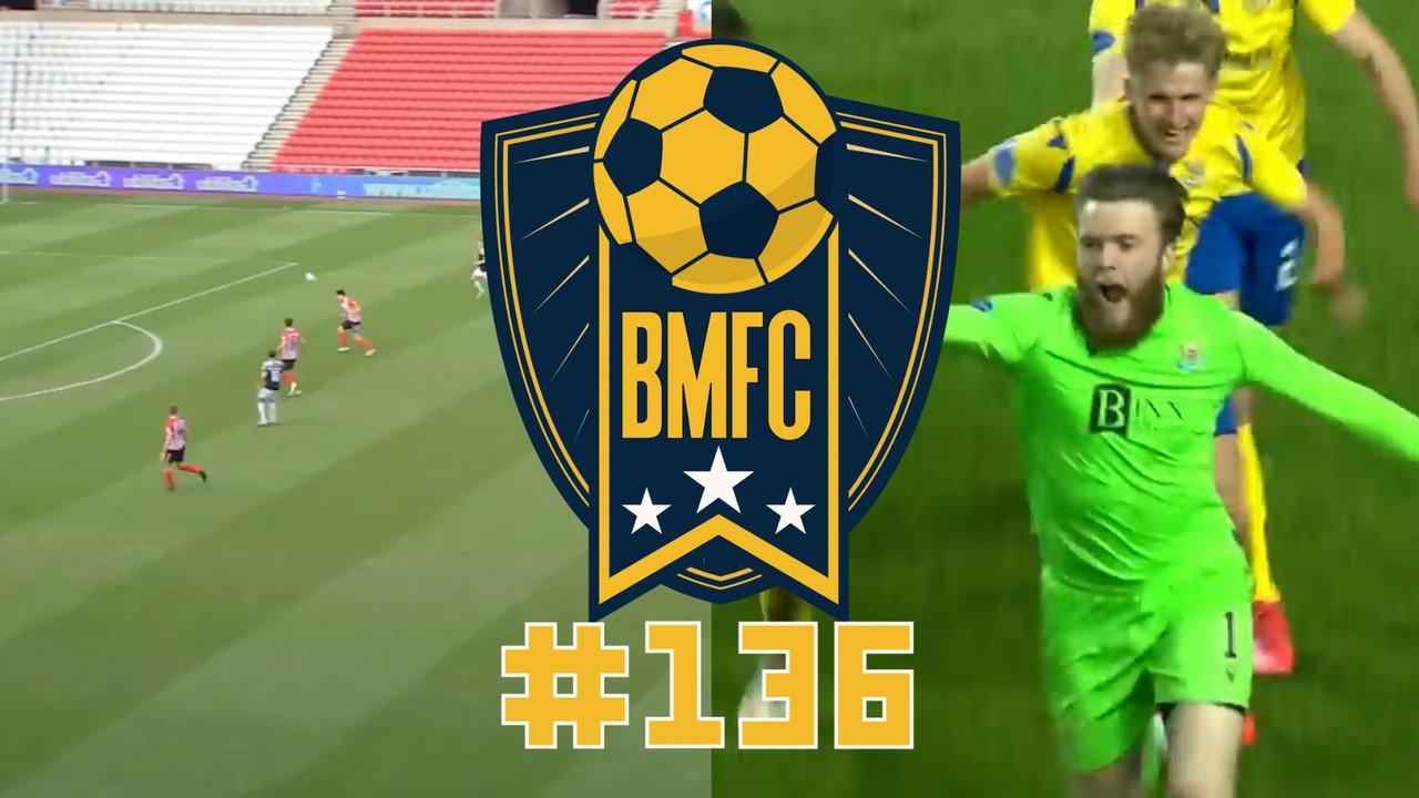 BMFC #136: Goleiro-artilheiro mita na Escócia e pintura contra do Sunderland