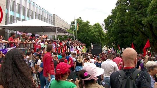 Porto Alegre tem ato a favor de Lula na véspera do julgamento