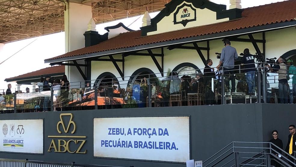 Expozebu 2019 foi aberta oficialmente neste sábado (27) — Foto: Bruno Sousa/G1