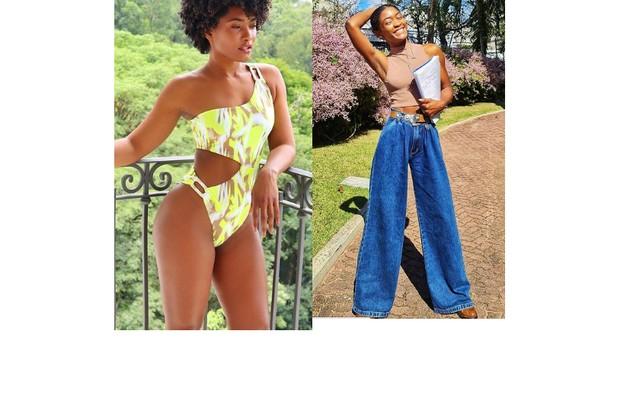 Erika Januza emagreceu nove quilos para ser uma modelo que vive um drama em 'Verdades secretas' 2. Ela deixou de malhar: 'Nada foi exigido, eu é que achei que caberia' (Foto: Reprodução)