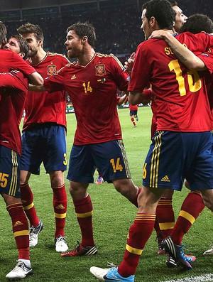 David silva espanha gol itália eurocopa (Foto: Agência Reuters)