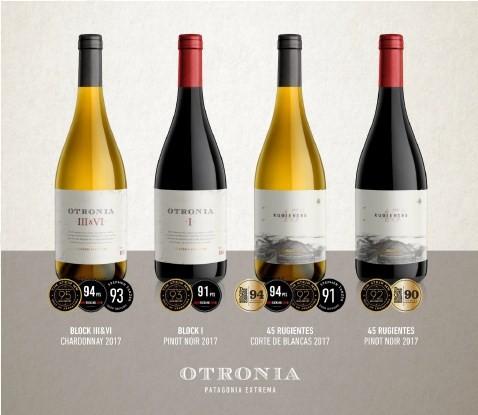 Os vinhos Otronia: pontuação elevada com críticos