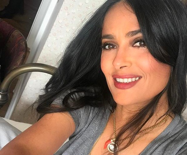 The stunning actress, Salma Hayek (picture: Instagram)