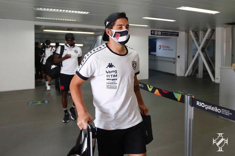 Benitez voltou a treinar e deve ser realiconado — Foto: Rafael Ribeiro/Vasco da Gama
