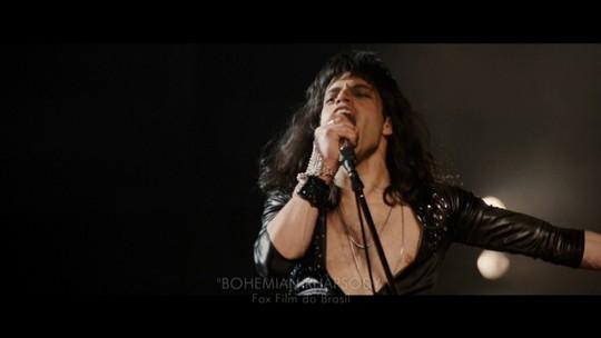 Ator Rami Malek coleciona elogios ao dar vida a Freddie Mercury no cinema