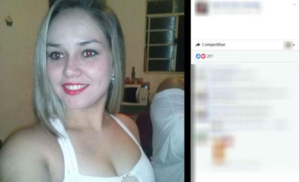 Jovem morreu depois de ter cerca de 70% do corpo queimado dentro de casa em Mairinque (Foto: Reprodução/Facebook)